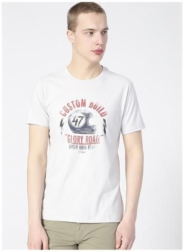 Wrangler Wrangler W211923035_Logo T-shirt  Gri